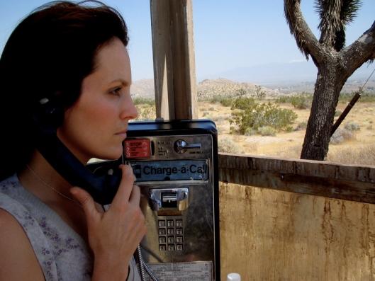 Mojave Phone Booth - scene