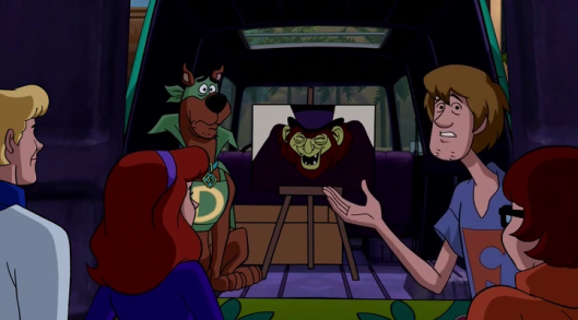 Scooby-Doo! Mask of the Blue Falcon - scene