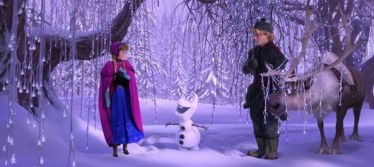 Frozen - scene