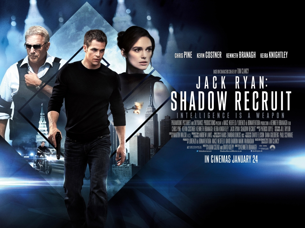 Jack Ryan: Shadow Recruit (2014) | thedullwoodexperiment