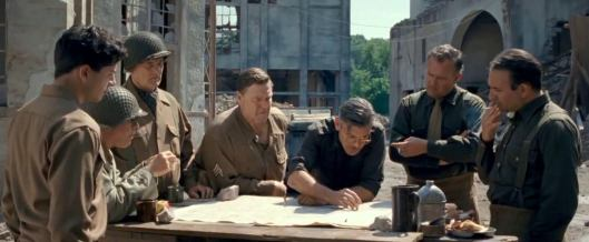 Monuments Men, The - scene