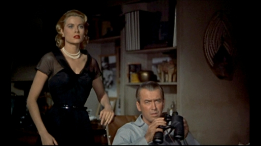 Rear Window - scene