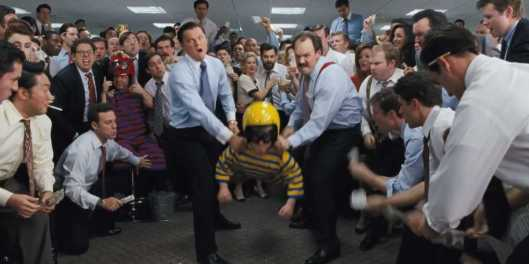 Wolf of Wall Street, The - scene