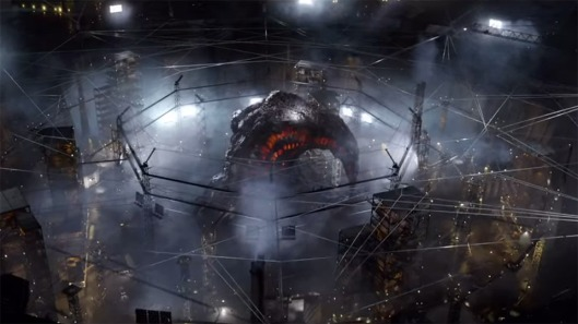 Godzilla (2014) - scene