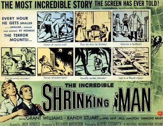 Poster of the Week - The Incredible Shrinking Man (1957)