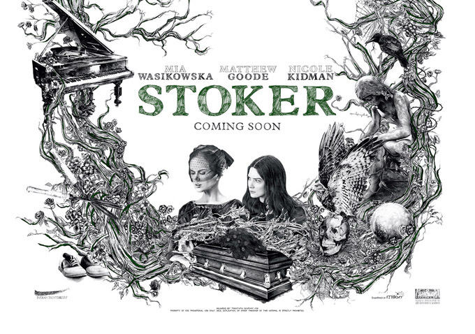 Poster of the Week – Stoker (2013) | thedullwoodexperiment