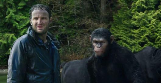 Dawn of the Planet of the Apes - scene