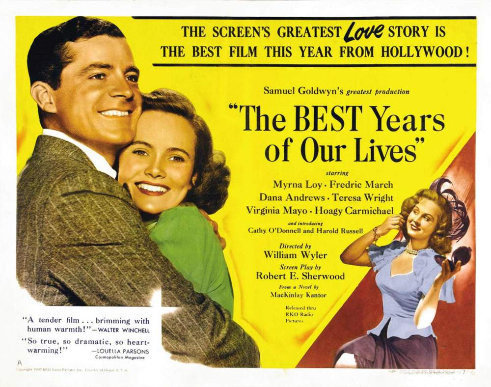 Poster of the Week – The Best Years of Our Lives (1946 ...
