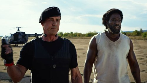 Expendables 3, The - scene