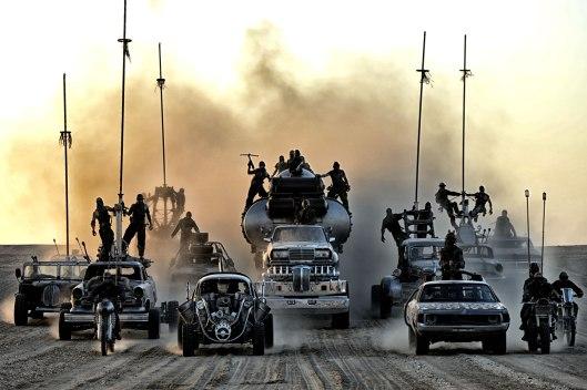 Mad Max Fury Road - scene