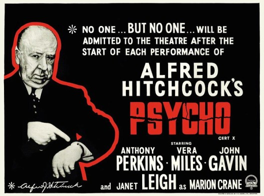 alfred hitchcocks specific audience reached by psycho Psycho is a 1960 american psychological horror film directed and produced by alfred hitchcock, and written by joseph stefanoit stars anthony perkins, janet leigh, john gavin, vera miles, and martin balsam, and was based on the 1959 novel of the same name by robert blochthe film centers on an encounter between a secretary, marion crane (leigh), who ends up at a secluded motel after stealing.