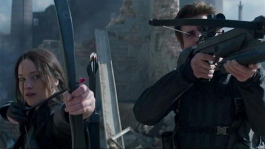 Hunger Games Mockingjay Part 1, The - scene