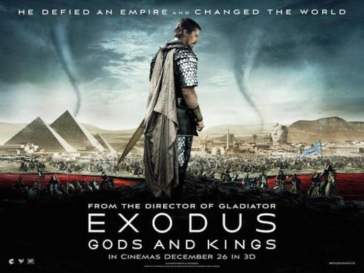 Exodus: Gods and Kings (2014) | thedullwoodexperiment Exodus Gods And Kings Movie Poster