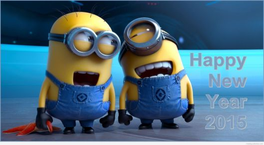 Happy New Year - Minions