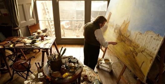 Mr. Turner - scene