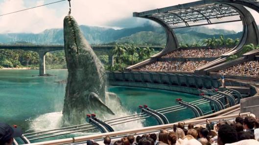 Jurassic World - scene