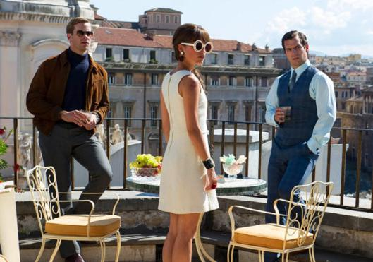 Man from U.N.C.L.E., The - scene