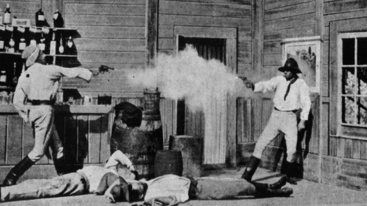 Story of the Kelly Gang, The - scene