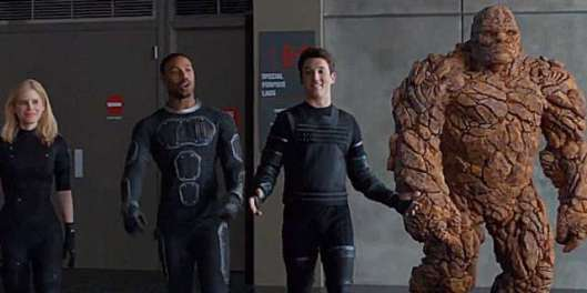 Fantastic Four - scene