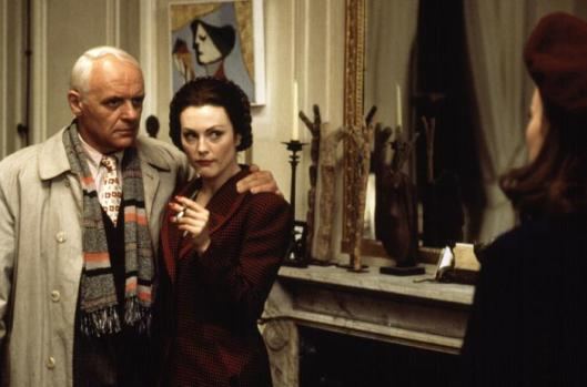 SURVIVING PICASSO, Anthony Hopkins, Julianne Moore, 1996