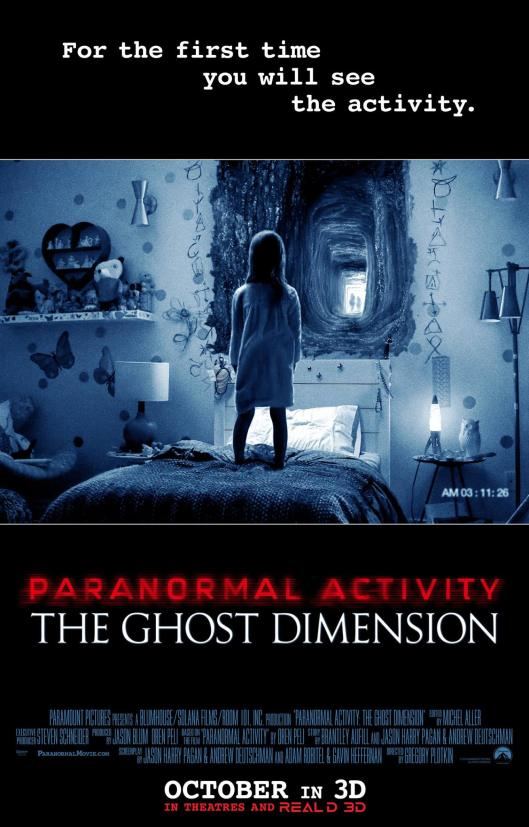 Paranormal Activity The Ghost Dimension