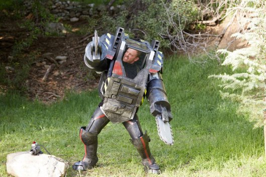 SHARKNADO: THE 4TH AWAKENS -- Pictured: Ian Ziering as Fin Shepard -- (Photo by: Tyler Golden/Syfy)