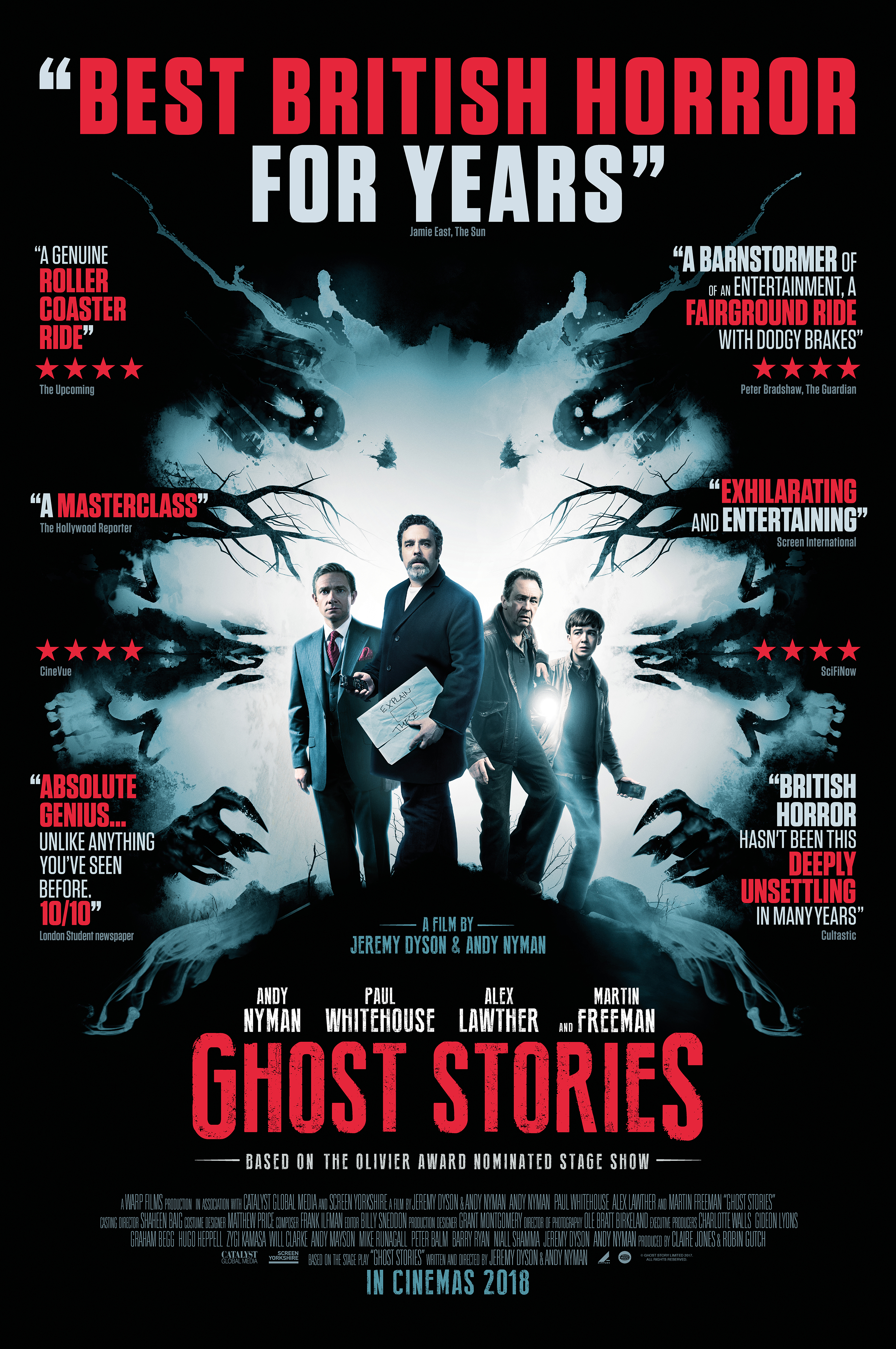 Ghost Stories (2017) |...